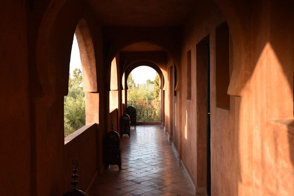 Couloir du Domaine de Tam, Marrakech, Maroc