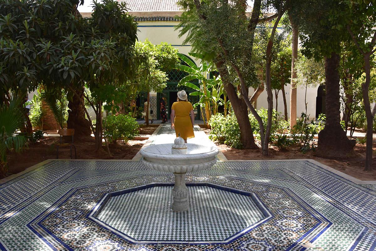 Palais Bahia, Marrakech, Maroc