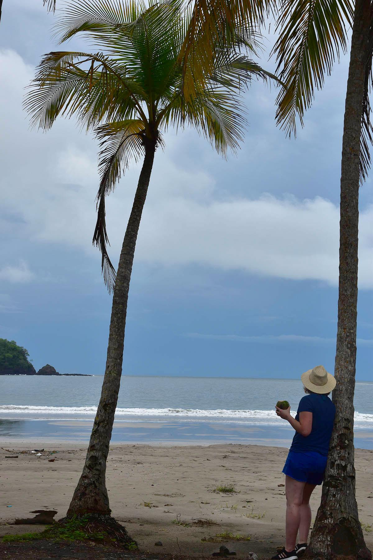 Charlotte sur la Playa Carillo, Péninsule de Nicoya, Costa Rica