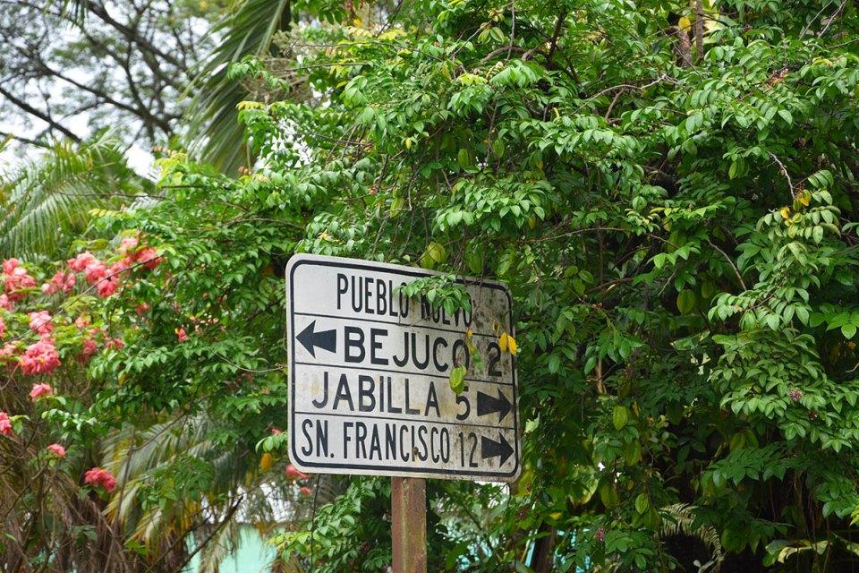 Panneau de la péninsule de Nicoya, Costa Rica