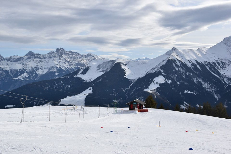 Sur les pistes, Morgins, Suisse