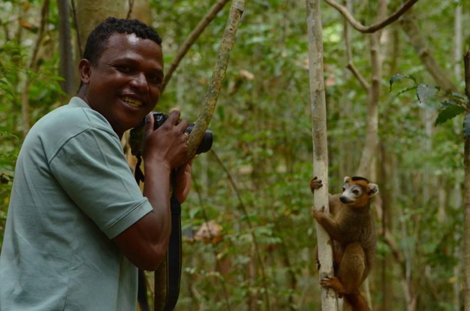 Didi Guide Madagascar photographie un lémurien