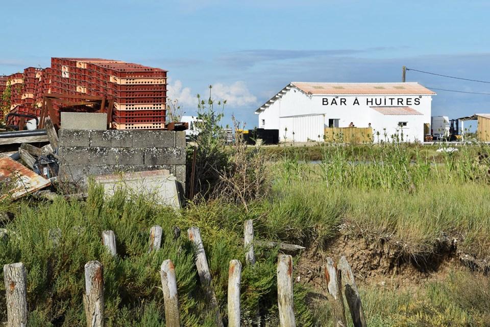 Bar à Huîtres sur la route des huîtres, Ile d'Oléron