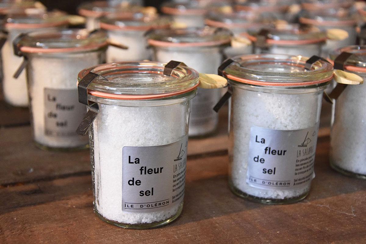 La Salorge, cabane de vente de sel, Ile d'Oléron