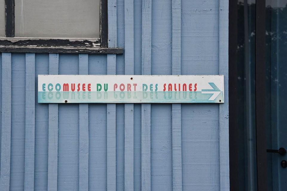 Panneau Ecomusée du Port des Salines, Ile d'Oléron
