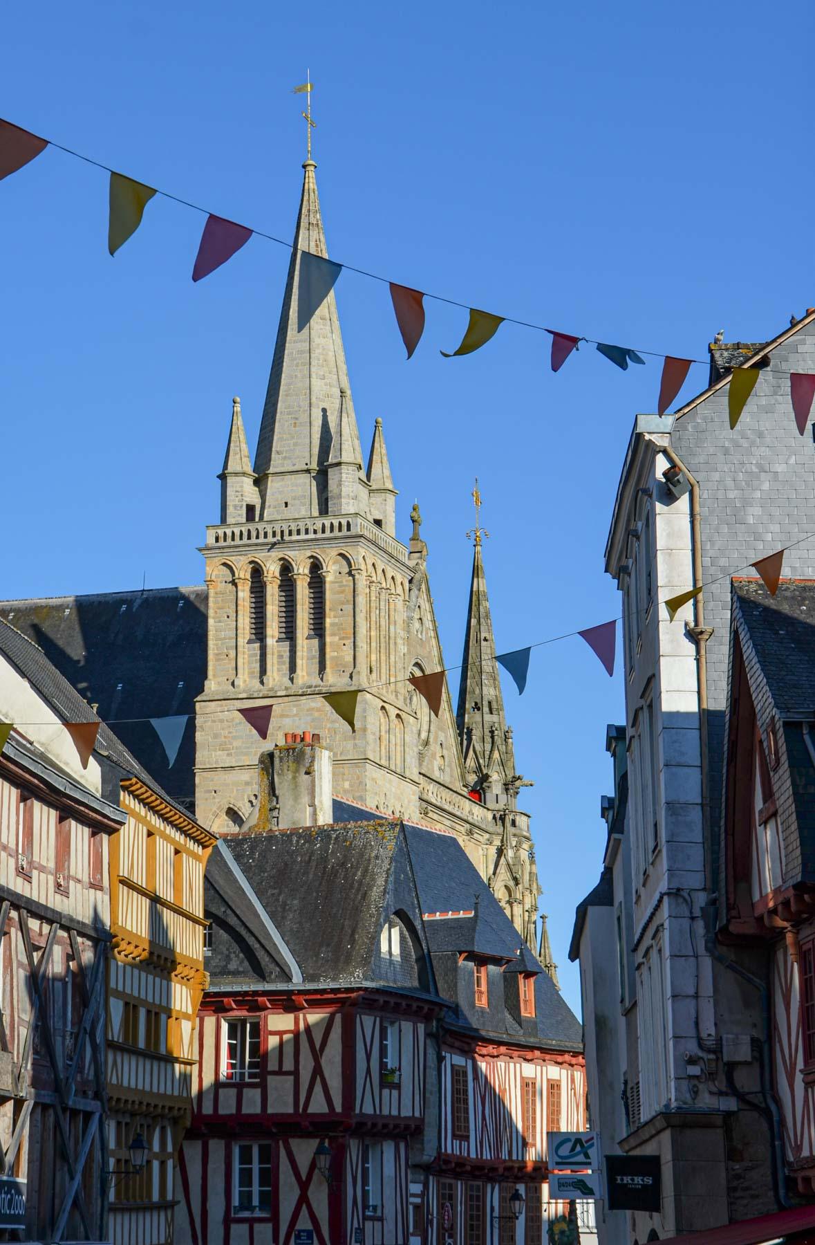 Cathédrale de Vannes, Morbihan, Bretagne