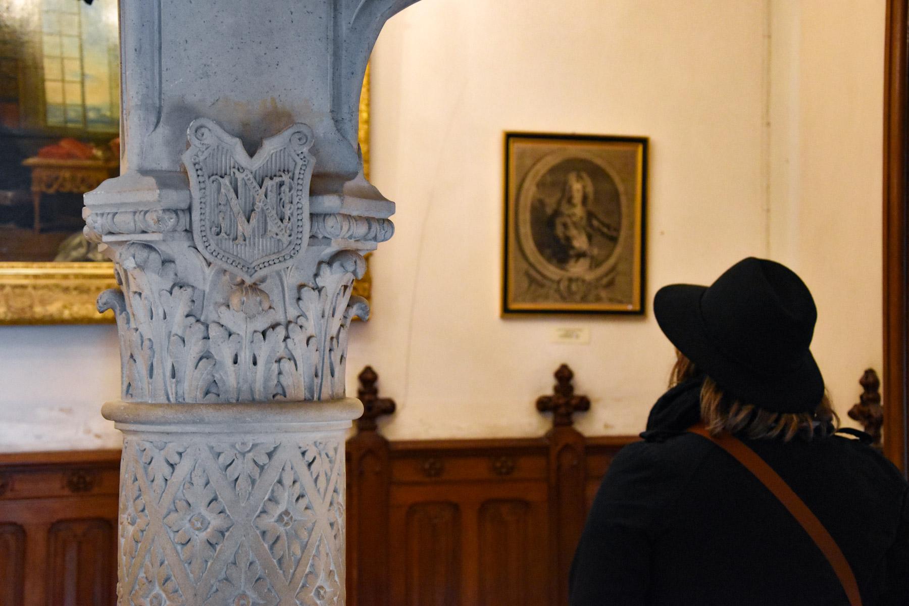 Intérieur du château de Maintenon