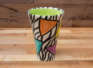 Carnival Safari small vase