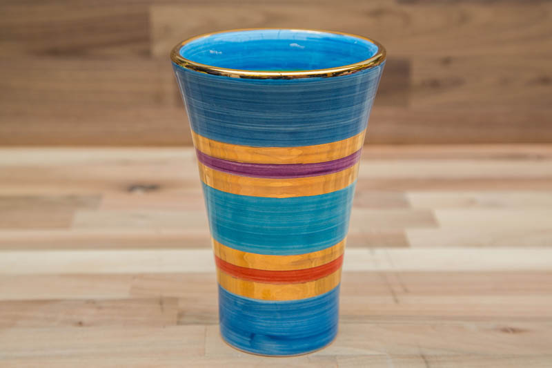 Reckless Designs Lustre Horizontal Small Vase In No01