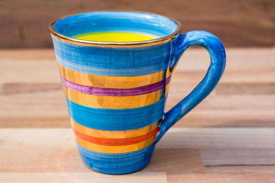Lustre Horizontal large tapered mug in no.01