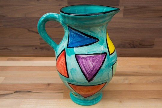 Carnival large jug in Sea Green