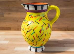Splash yellow Reckless Designs