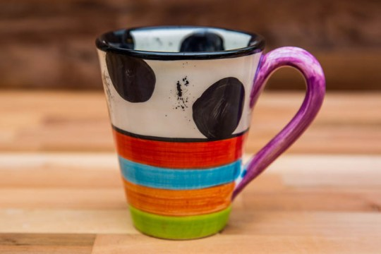 Hi-Life Gaudy large tapered mug in Spot