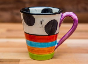 Hi-Life Gaudy large tapered mug in Spot