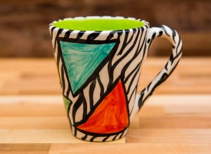 Carnival Safari large tapered mug