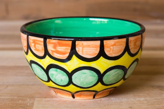 Fruity sugar bowl in Orange