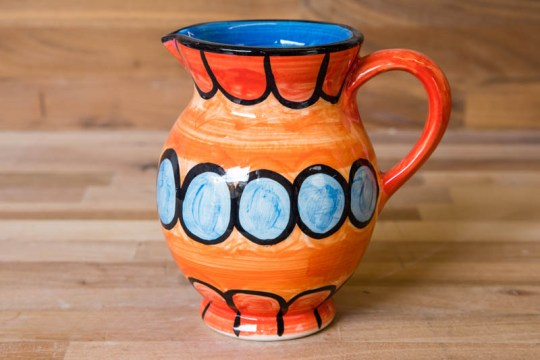 Fruity small jug in Red