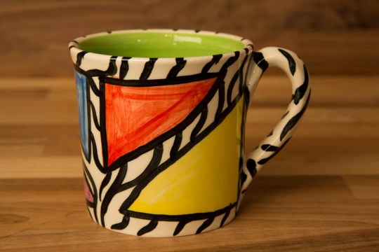 Carnival Safari wide parallel mug