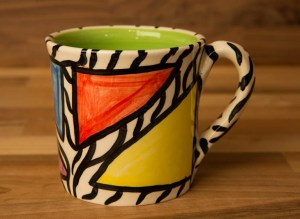 Carnival Safari small parallel mug