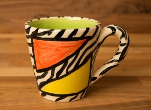Carnival Safari small tapered mug