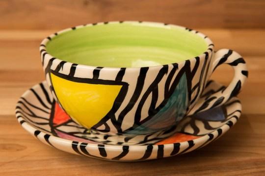 Carnival Safari cup and saucer