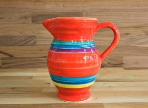 Horizontal Stripey red Reckless Designs