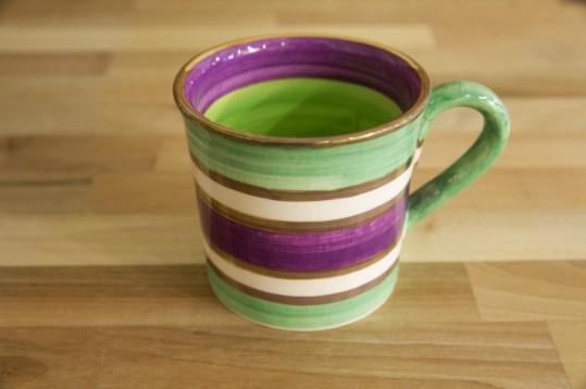 Lustre Horizontal wide mug in No.03