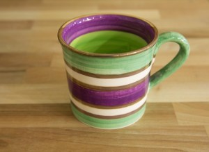 Lustre Horizontal wide mug in No.03