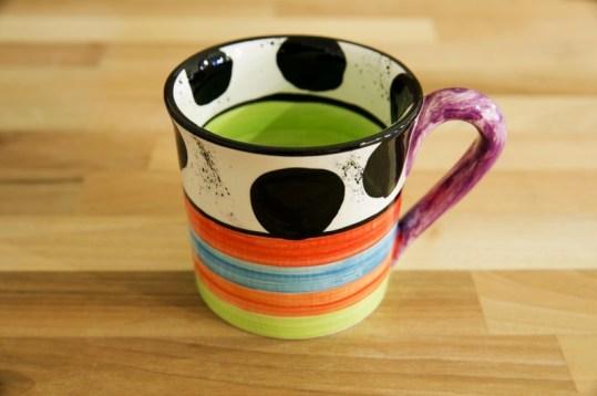 Hi-Life Gaudy small parallel mug in Spot