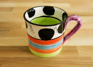 Hi-Life Gaudy wide mug in spot