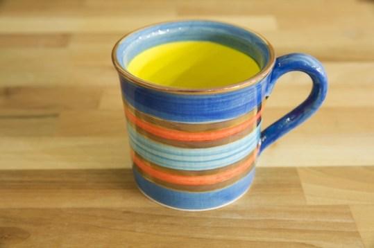 Lustre Horizontal wide mug in No.01