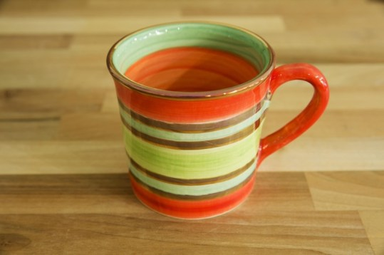 Lustre Horizontal wide mug in No.02