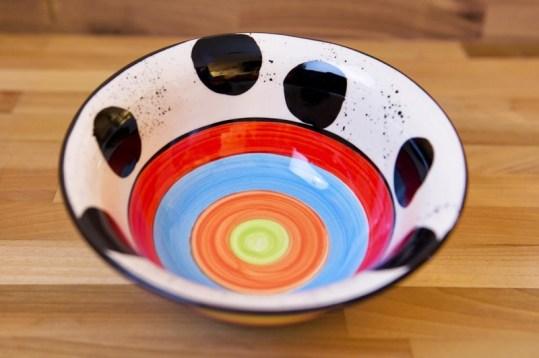 Hi-Life Gaudy cereal bowl in spot