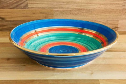 Lustre Horizontal salad/fruit bowl in No.01