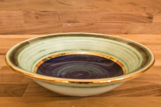 Lustre Horizontal pasta bowl in no.09