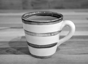 Fruity small tapered mug in Baga