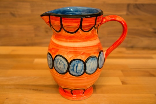 Fruity medium jug in Red