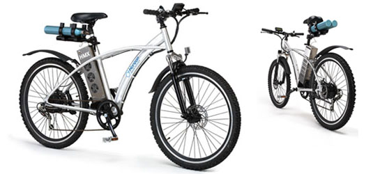 Hydrogen fuel cell bicycle