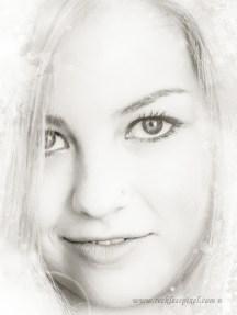 B&W Beauty Illustration