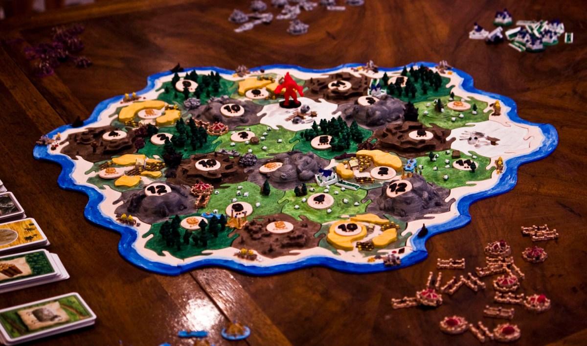 Making The Board 3D Blizzard Catan Board