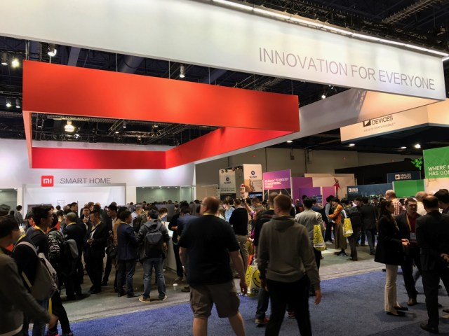 A lot of attention at the Xiaomi booth but ultimately let down by the lack of announcements for the US markets.