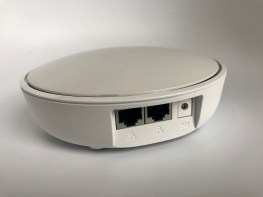 2 ethernet ports on the rear of each ASUS Lyra