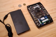 NUC & power brick
