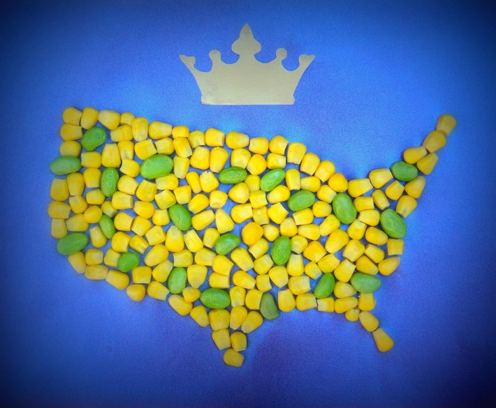 corn and soy: America's royal couple