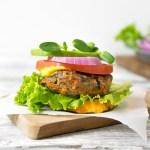 Grass Fed Beef and Veggie Burger | Reclaiming Yesterday
