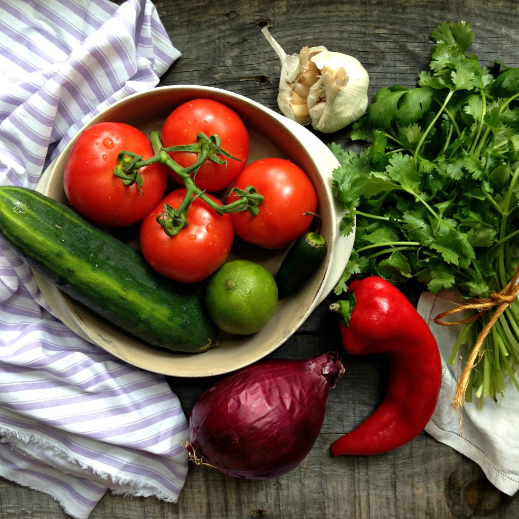 gazpacho ingredients