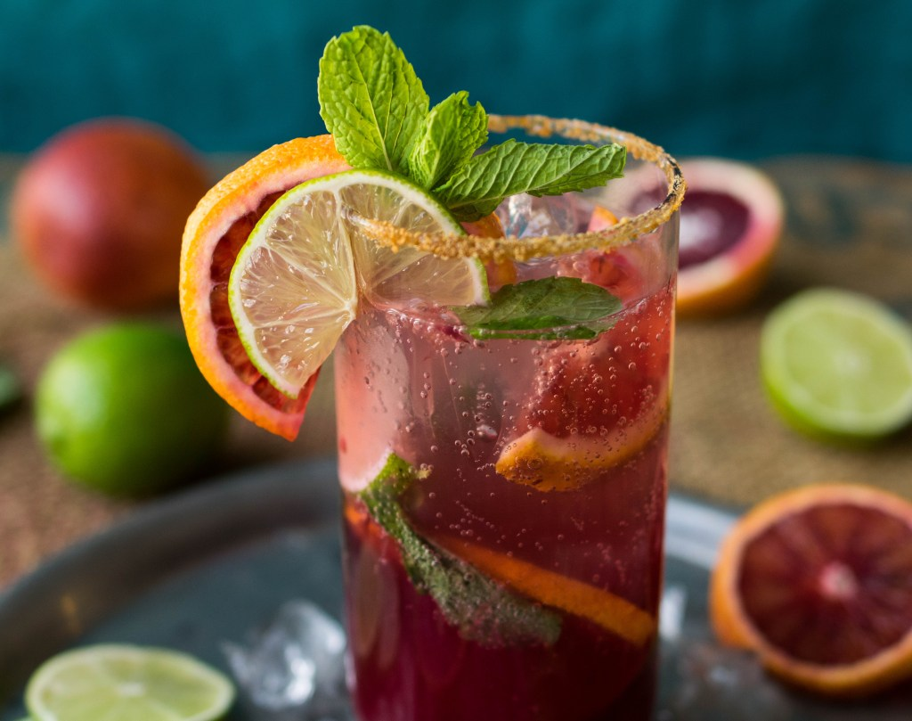 blood orange mojito 3_