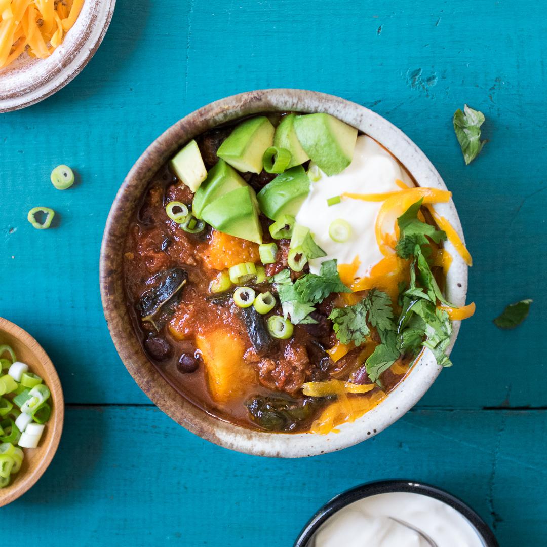 Crock Pot Sweet Potato Chili