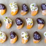 Coconut Butter and Chocolate Dipped Oranges | Reclaiming Yesterday
