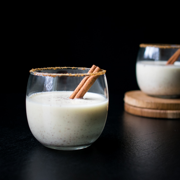 Calming Coconut Milk Egg Nog